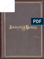 Leaves of Grass (1855) - Watl Whitman