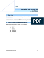 Nettica Bulk Services DNS API