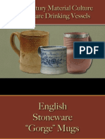 Drinking - Drinking Vessels - Stoneware - English & American