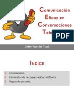 Comunicacion Telefonica Eficaz