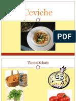 Ceviche es un manjar de manjares