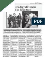 Políti-K 7º Edición pag 14 Cultura. Polémica entre películas sobre Bolívar