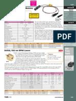 Focusable Laser Diode Modules