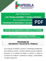 Participacion de Los Trabajadores Psst 2013(1)