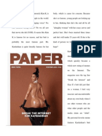 kim kardashian and her femininity or lack thereof