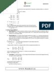 3 Matrices