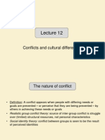 Lecture 12 - Culture Conflict