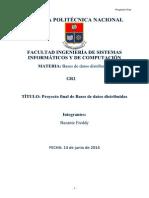 Proyecto Final BDD