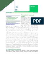 Informe de Educación - INIDEN - Noviembre 2014