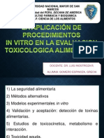 TOXICOLOGIA ALIMENTARIA seminario