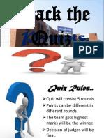 Crack the Quiz2