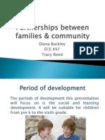 partnerships between families  community