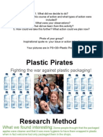 plastic pirates action - packaging