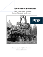 2006 Directory of Consulting Foresters FR-021-2006