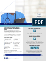Online English for Nurses - Getting the Essentials Right
