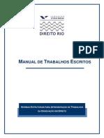 TCC- Manual de Trabalhos Escritos