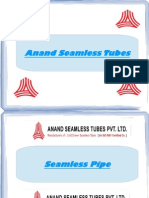 Seamless Pipe By Anand Seamless Tubes