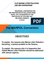Prevention of Marine Litter Pollution