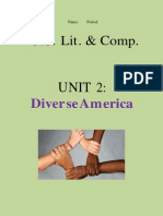 diverse america unit packet word