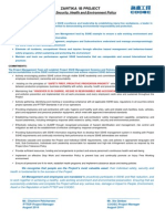 Mm-ztk-1b-Gen-saf-prc-4007 Project Sshe Policy 20140813 Rev b1 English