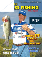 Texas Bass Fishing Mag Winter 2009