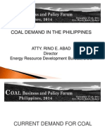 Coal Demand in the Philippines