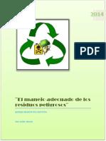 El Manejo Adecuado de Los Residuos Peligrosos
