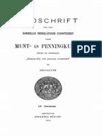 Considérations sur trois sceattas anglo-saxons identiques du cabinet numismatique de la Société frisonne à Leeuwarde / [M. de Man]