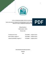 Usulan Program Kreativitas Mahasiswa 2014