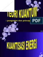 Teori Kuantum_pengantar & Prinsip Dasar