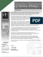Newsletter January 2010 Phillips