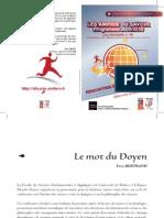 Programme 2010 des « Amphis du Savoir », Poitiers