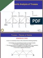 Truss Lecture (1) - Mechanics of Materials