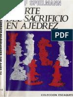 15- El Arte Del Sacrificio en Ajedrez. — R. Spielmann.