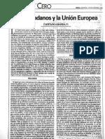 1A2.1994.11.Ciudadanos y La UE
