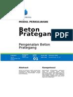 Beton Prategang Modul 1.doc