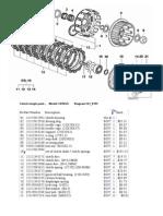 Clutch Single Parts BMW F 650 GS