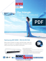 MS Samsung Ar5000 Non Inverter Airconditioner
