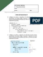 Lista8 - Algoritmos