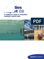 A Designers Guide to Underfloor Heating in Sports Halls