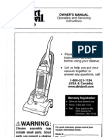 OWNER's MANUAL Operating and Servicing Instructions