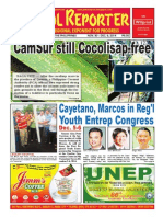 Bikol Reporter November 30 - December 6 Issue