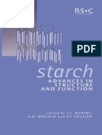 Starch Advance in Function and Structure