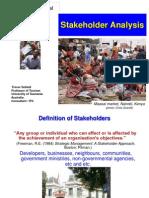 4. Stakeholder Analysis
