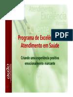 Programa Excelência No Atendimento - Apresentação