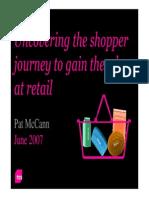 3. TNS Shopper Journey - Pat McCann