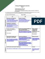 biology staar review activities