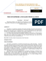 The Ionosphere and Radio Propagation