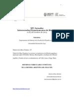 2013 - Reformas Curriculares y Enseñanza de La Historia Argentina Del Siglo XIX