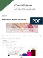 Perhitungan Income Prudential